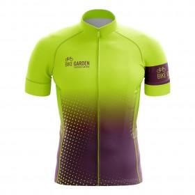 2022 Bike Garden Hyper Purple Cycling Jersey