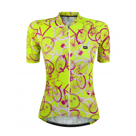 Camisa Fem Marcio May Funny Neon Bike