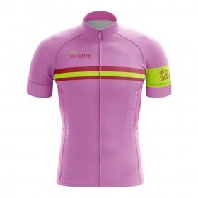 2022 Bike Garden Maglia Rosa Cycling Jersey